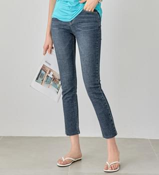 韓國空運 - Low Stitch Date Jean #73464 牛仔褲