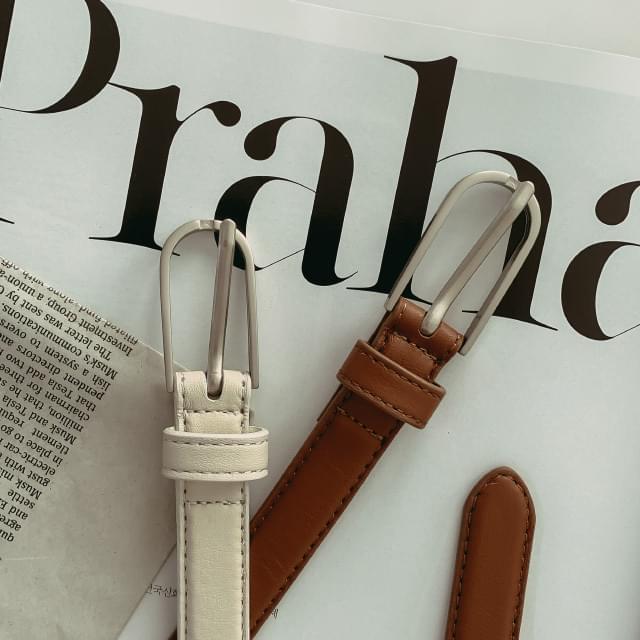 4 color silver buckle belt