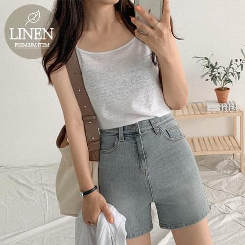 Hello linen cardigan set
