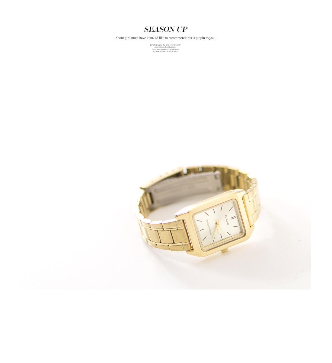 Casio Gold Square watch #84509