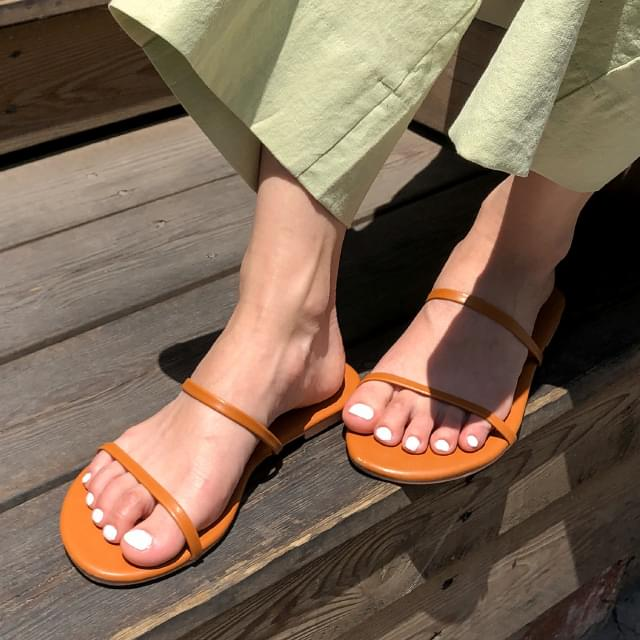 Modern Simple Strap Slippers