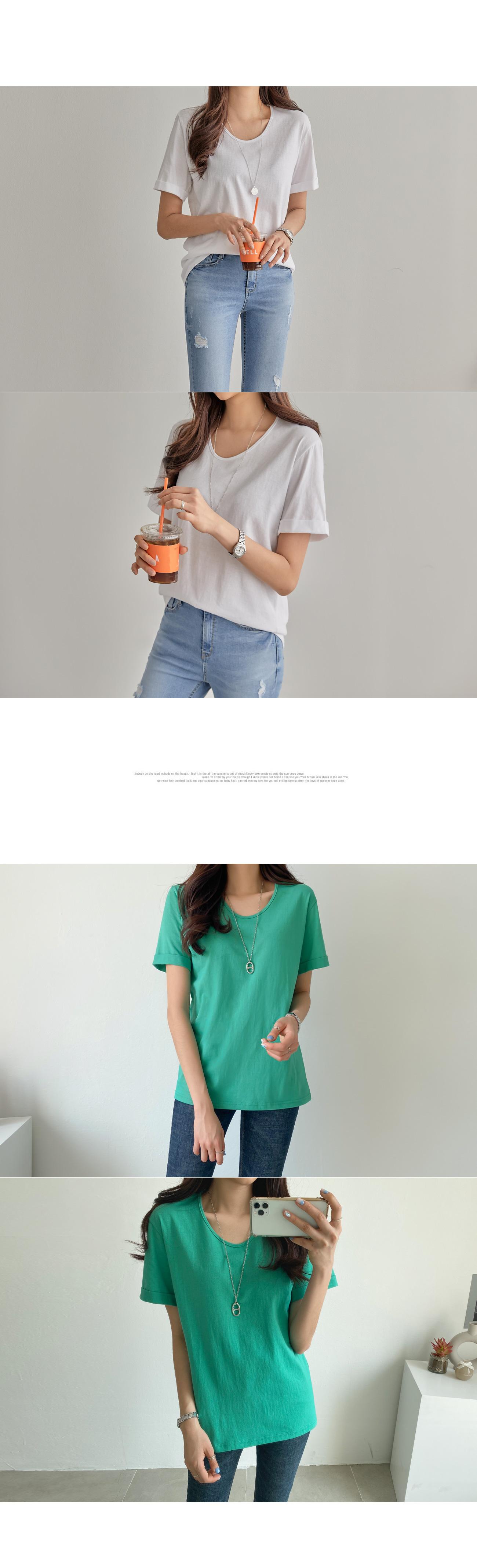 Basic Rolling T-shirt #105776
