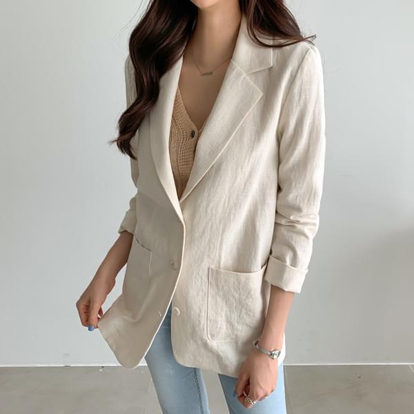 Ulsi Linen Jacket #65820