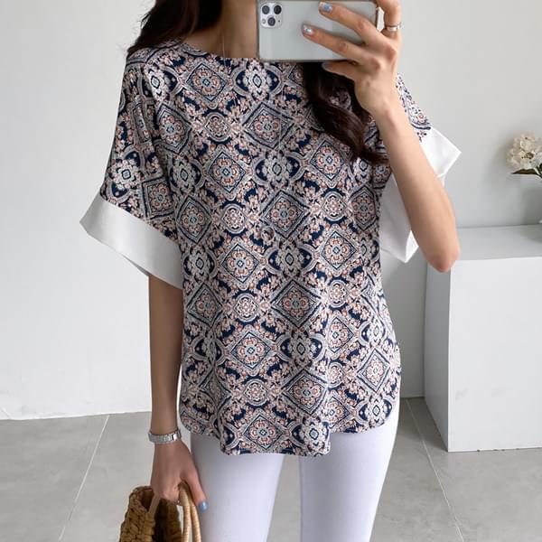 Antique color blouse #47704F available★Exclusive price 4,000won discount★