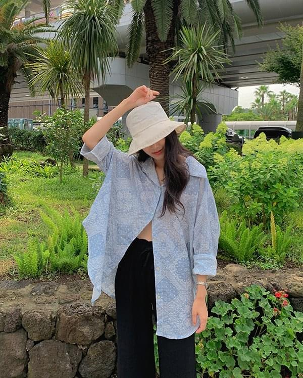 Maria Paisley Summer Shirt