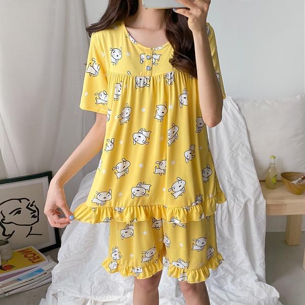 Character Span Pajama Set #92519