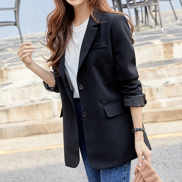 Two-button tailored jacket #65635