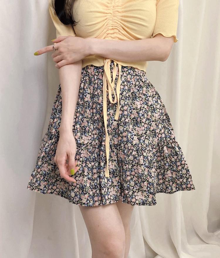 Gina Flower Skirt