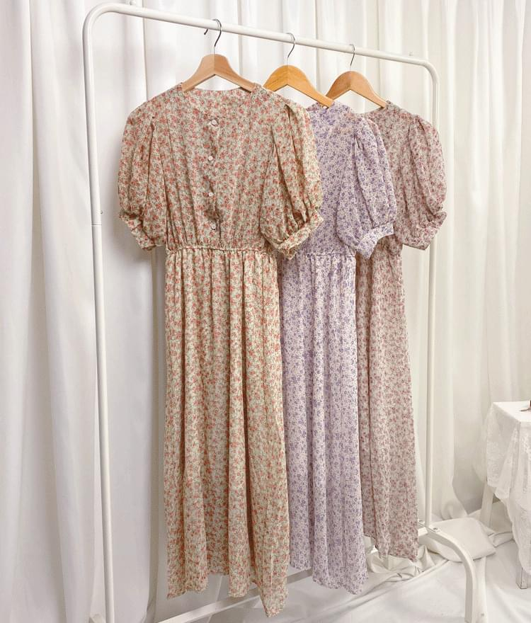 Sia Flower Dress