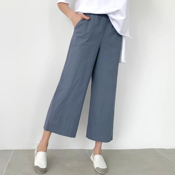 Daily Part 9 Wide Banding Pants #75326