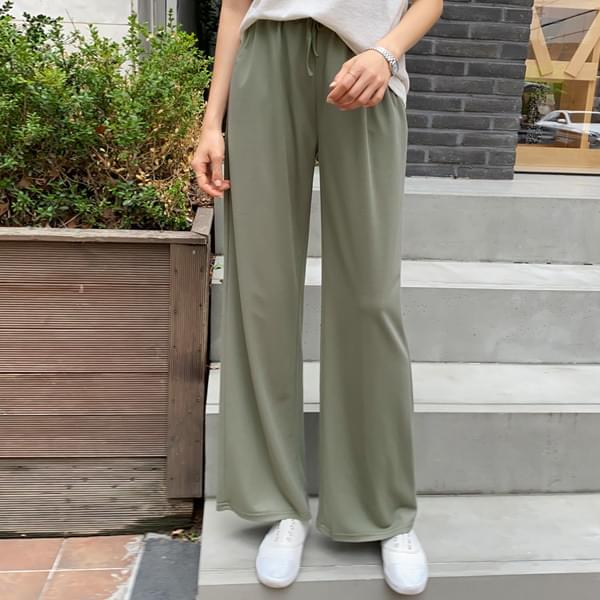 Straight Wide Fit Natural Banding Pants #75808★25%) Harvey is also a beautiful fit! Slim with wide fit!★
