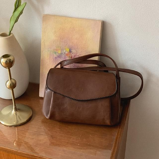 Vintage Ruched Cross Bag