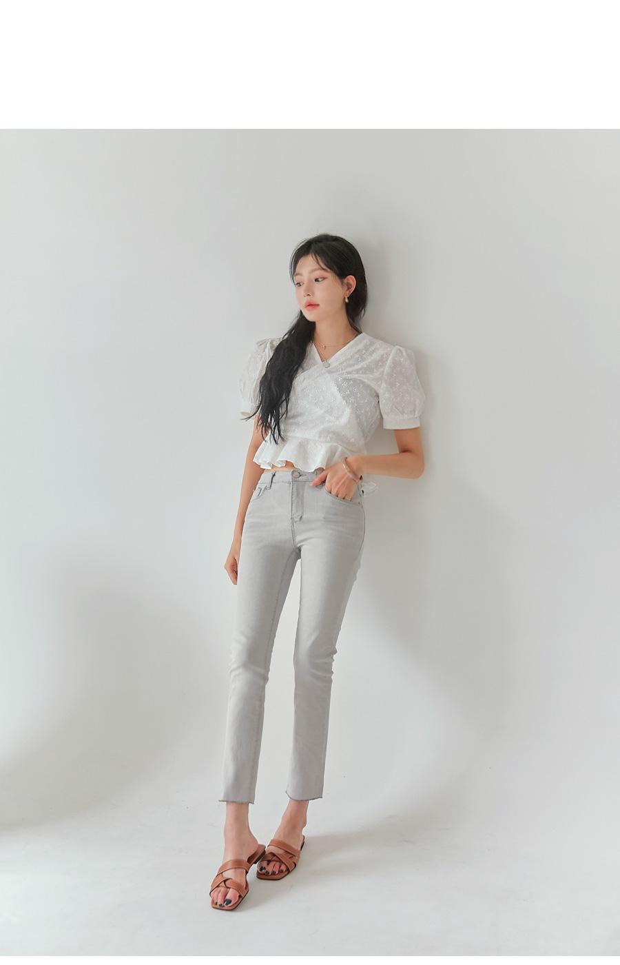 SENO WASHING STRAIGHT PANTS