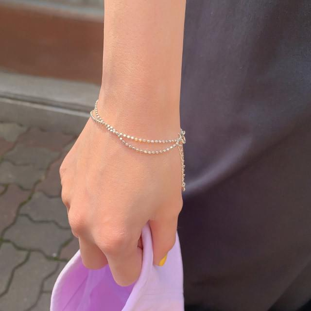Minimalist Two-Chain Bracelet