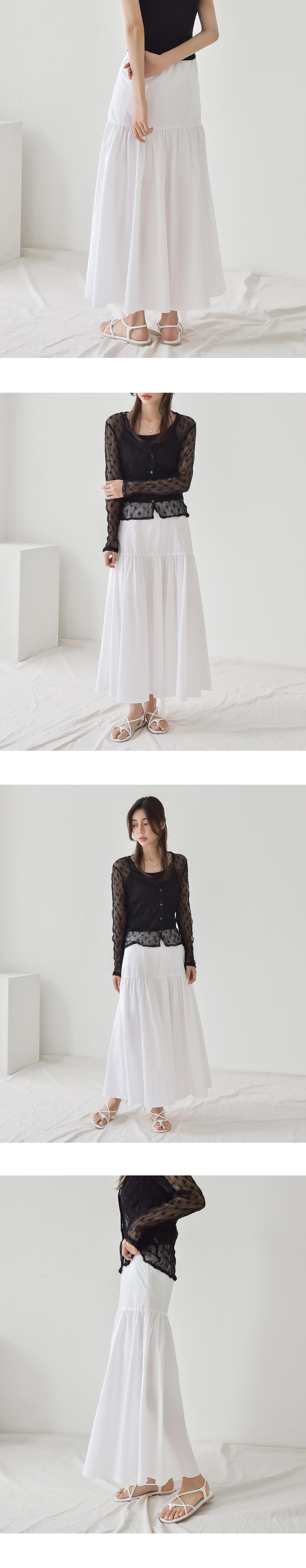 Rani shirring skirt