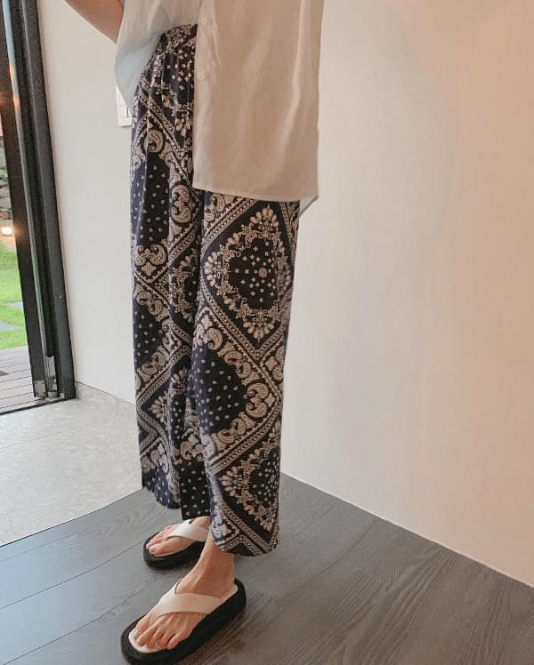 #Any place Freedom Paisley Long Pants