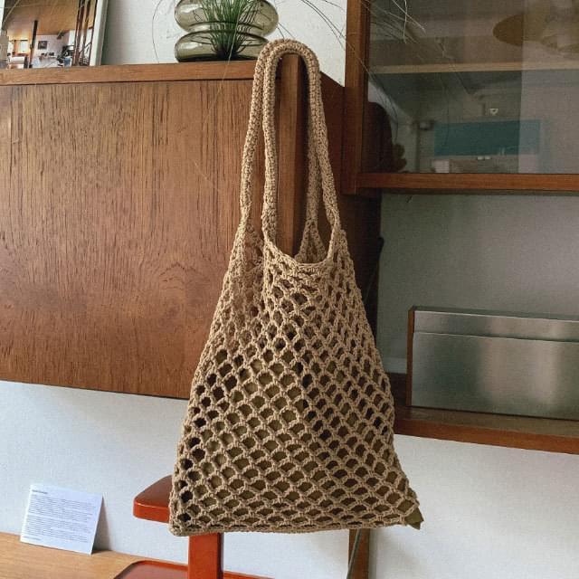 Natural pouch set net bag