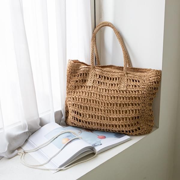 Picnic summer shoulder tote bag #86212