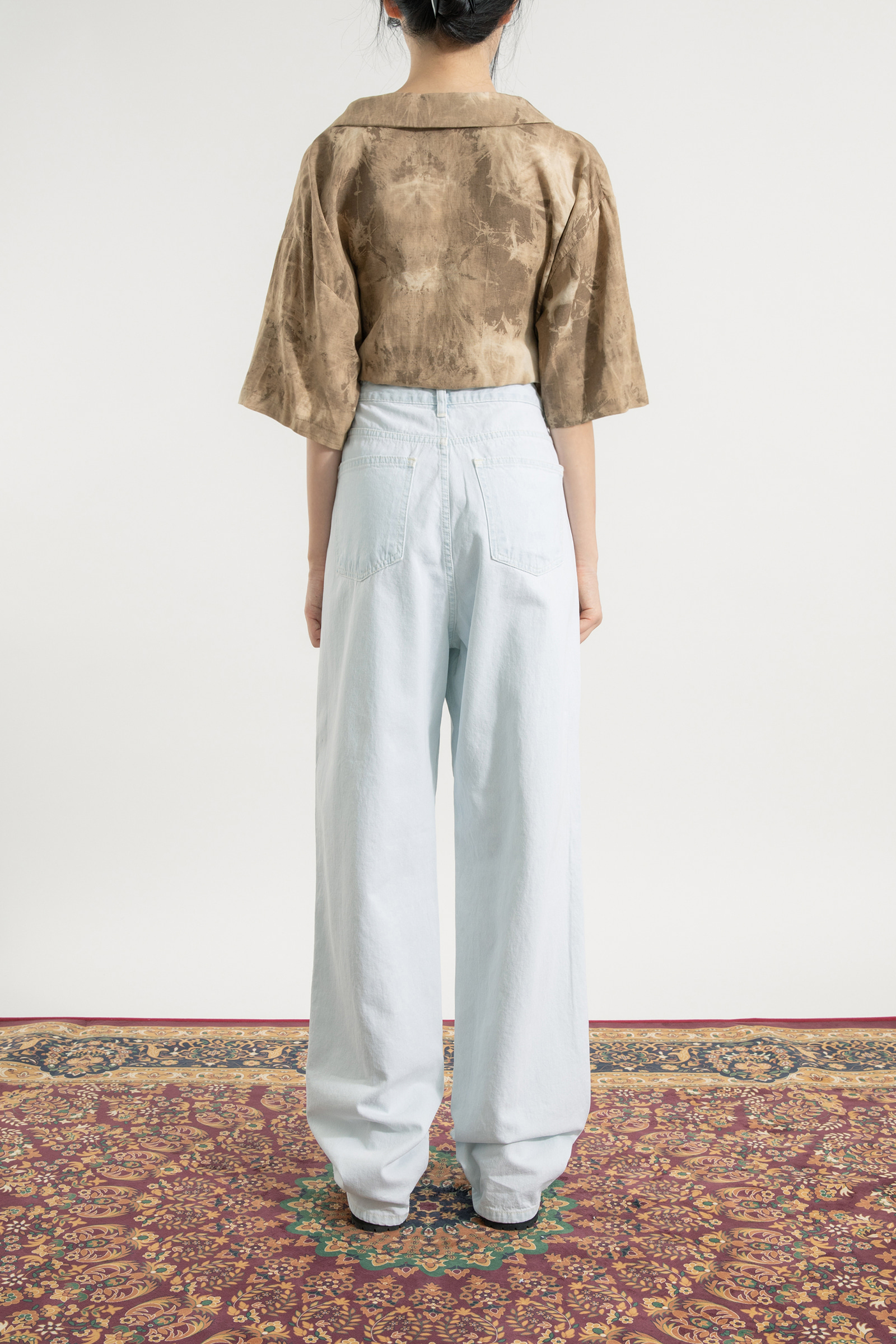 Max high-rise wide jeans