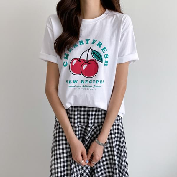 Cherish Short-sleeved T-shirt #108201★Single Discount 3,000won★