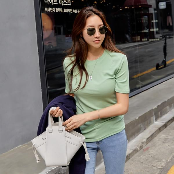 Serie short-sleeved T-shirt with good elasticity #108068