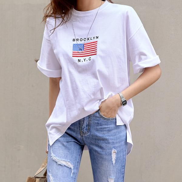 NYC Loose Fit Short Sleeve T-Shirt #107109