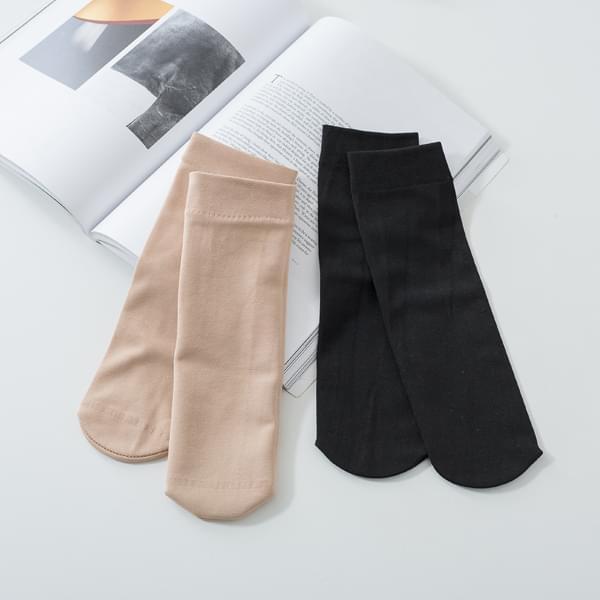 Hugs multi Fleece-lined ankle stockings # 84409