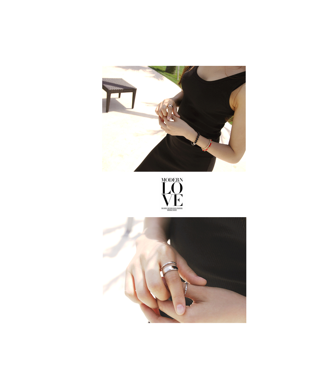 Double Line Ring #82177