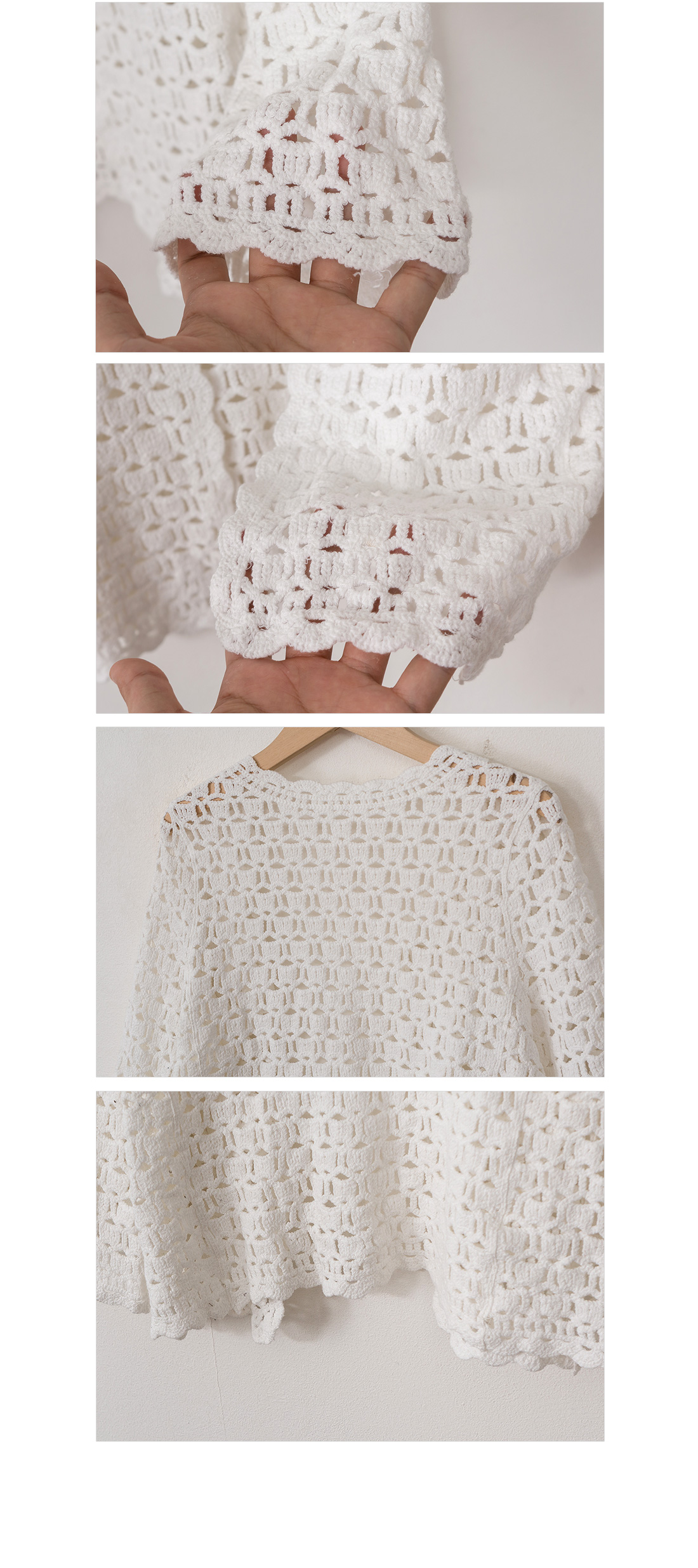 Light knitted cardigan #20971