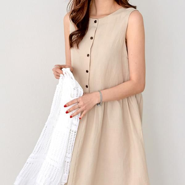 Sonya Modern Linen Dress #37119
