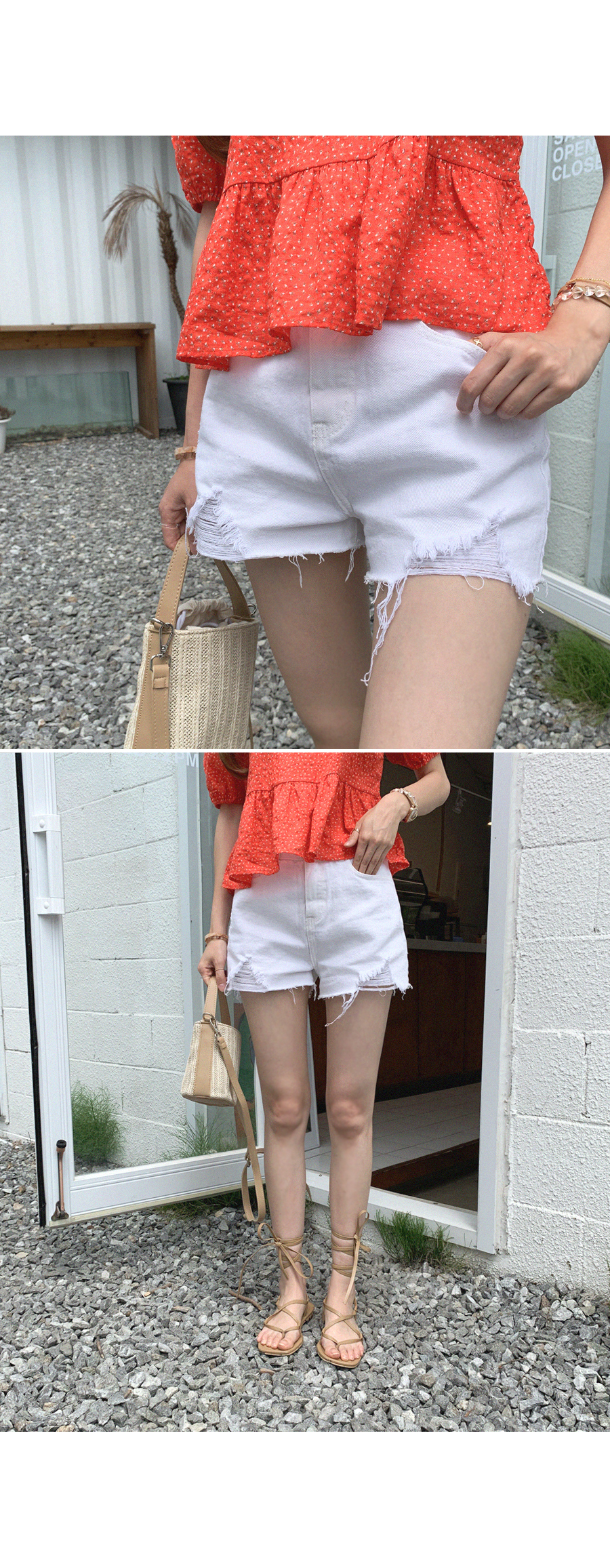 Daily use cotton shorts