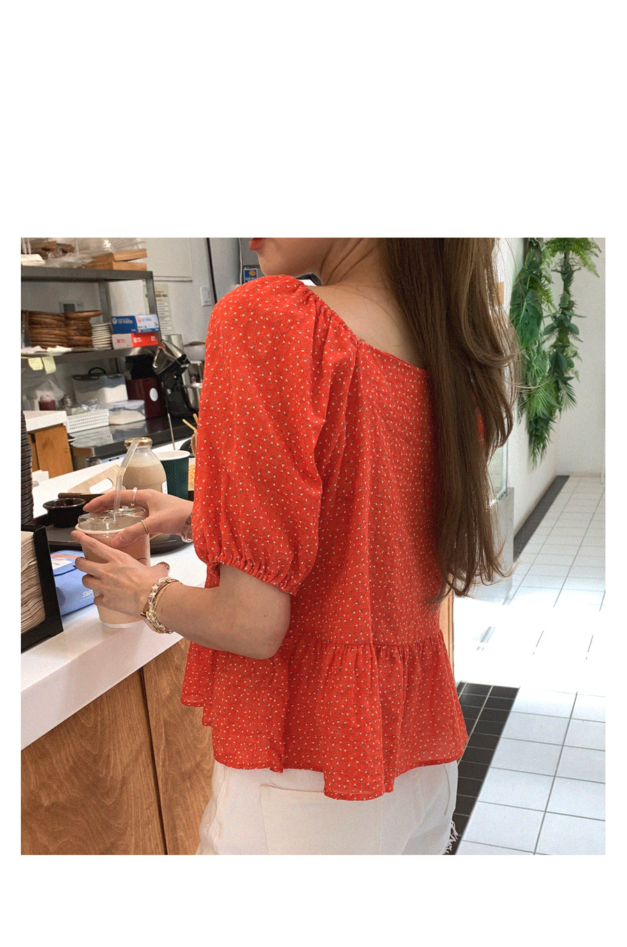 Cute abyss blouse