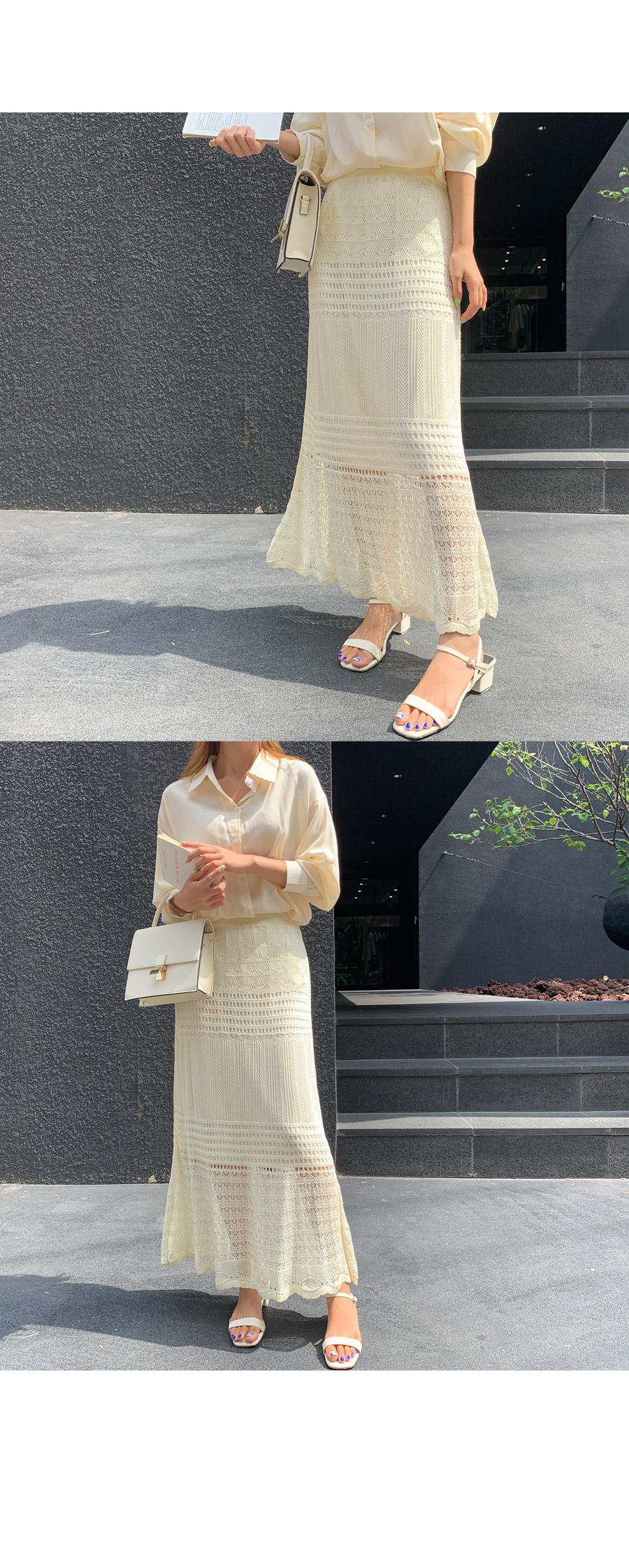 Andelani Trace Long Skirt