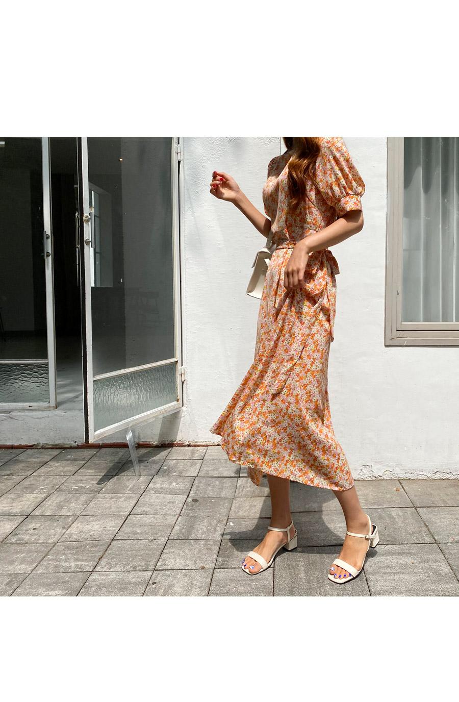 Deli Flower Long Dress