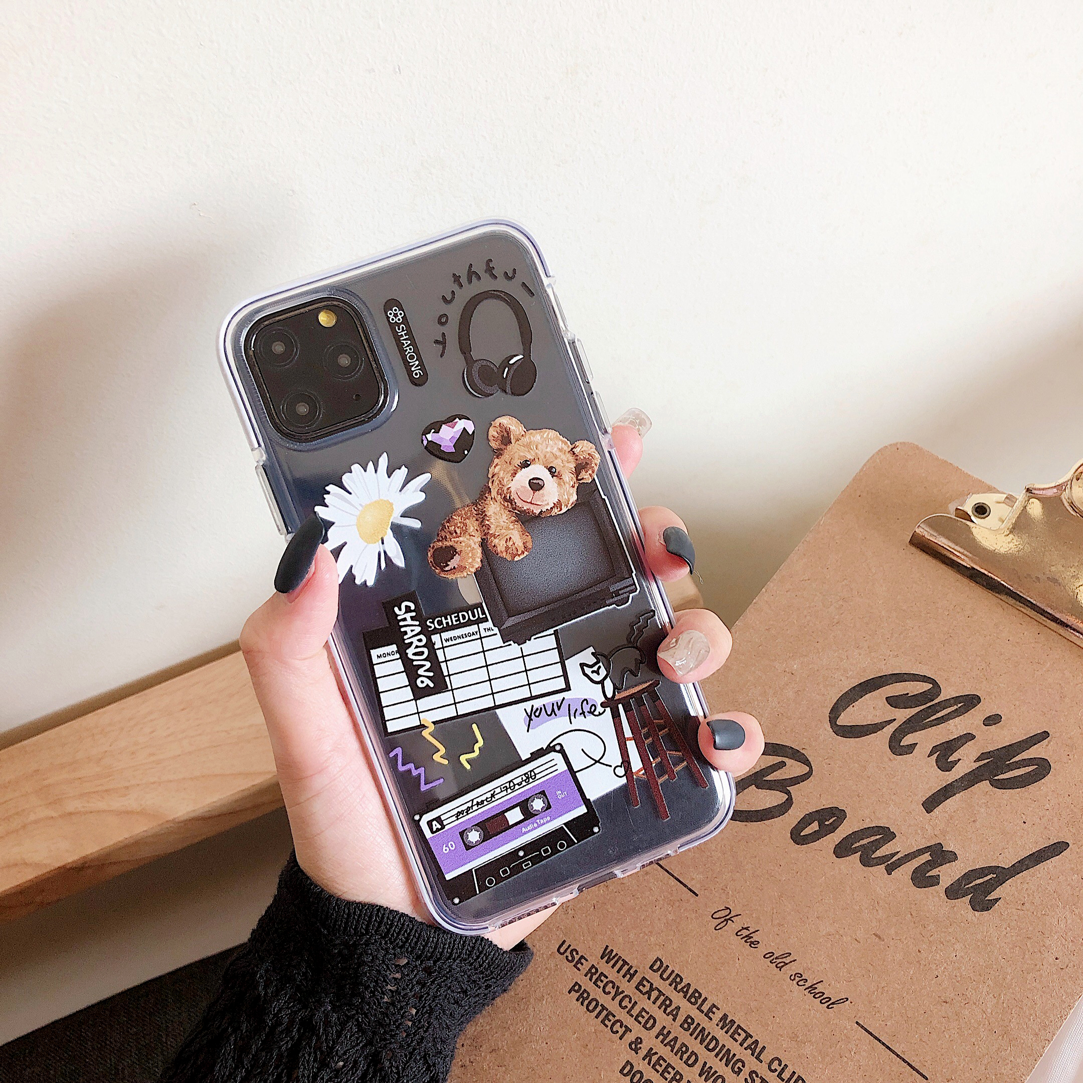 Bear patch case