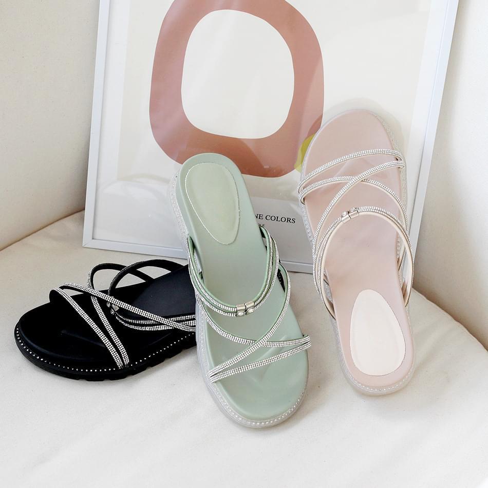 Loplan 2way sandals 3cm