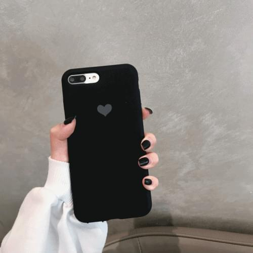 Heart logo iPhone case