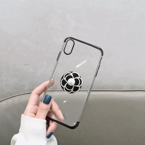 Rose Grip Ring iPhone Case