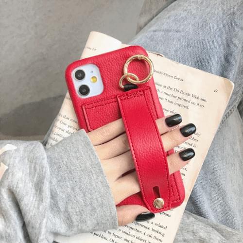 Strap card case
