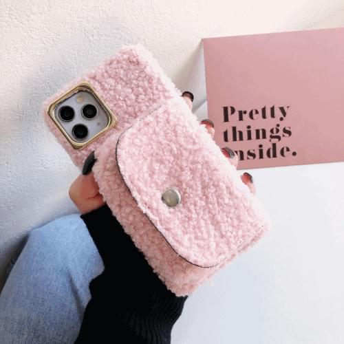 Pink pocket case