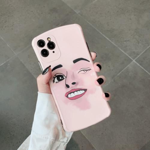 Tongkun Jungu iPhone 11 Pro Max iPhone XS iPhone XR iPhone 8 Face Case