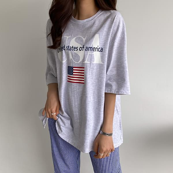 Overfit America T-shirt #108220F available