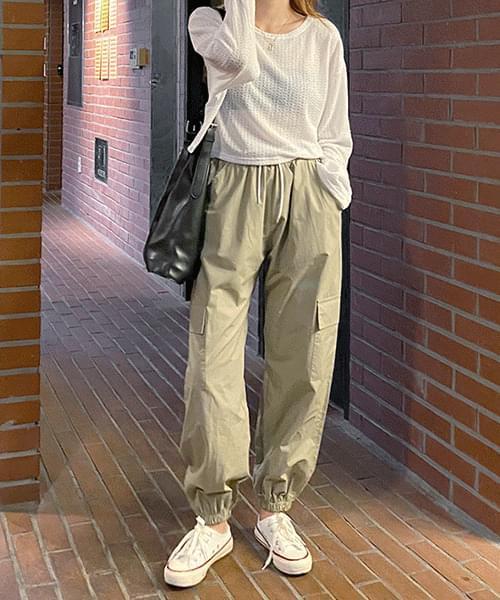 Pocket jogger pants
