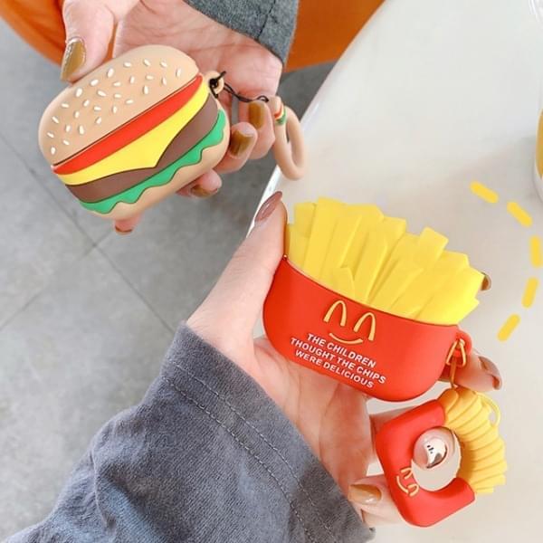 Burger Set AirPod Case