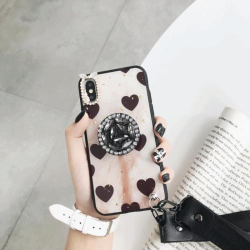 Cubic Heart Ring iPhone Case