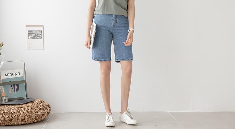 Stylish Summer Blue Shorts #75385