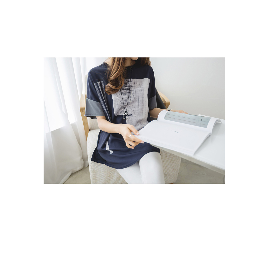 Flore color t-shirt #101930F/L(77~88) available