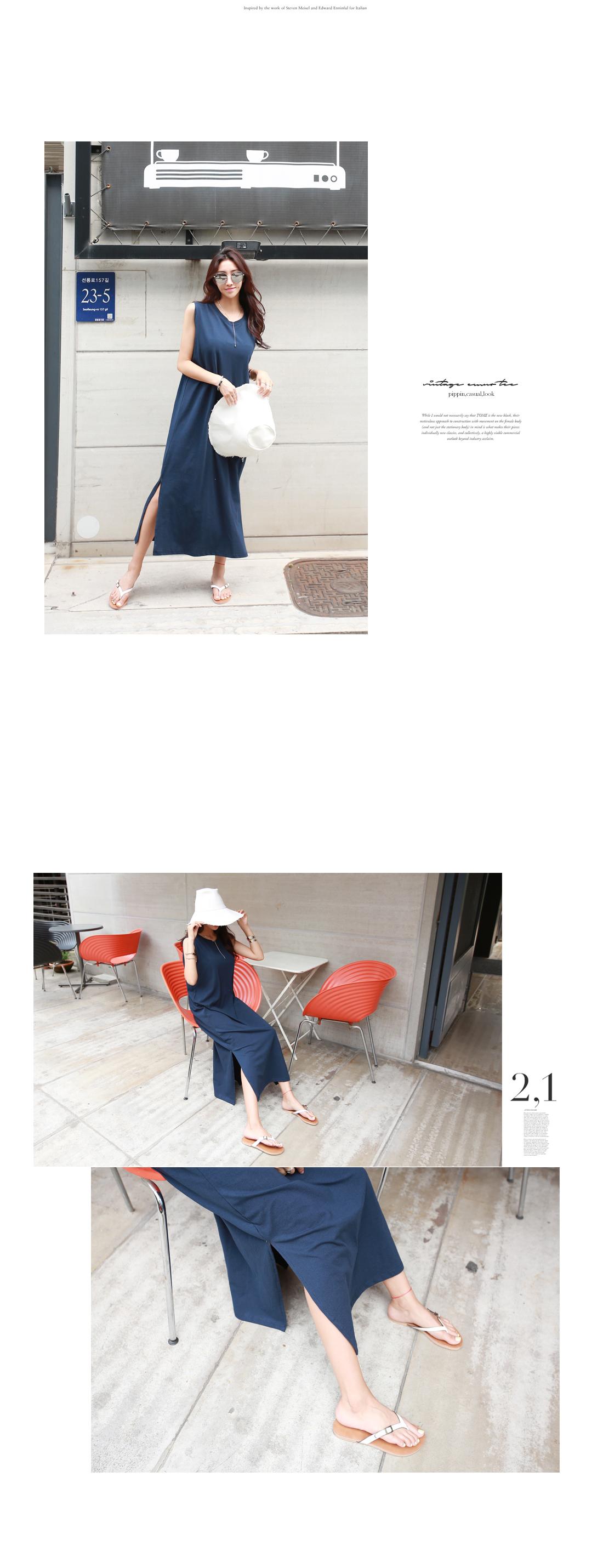Heath Basic Sleeveless Dress #35370