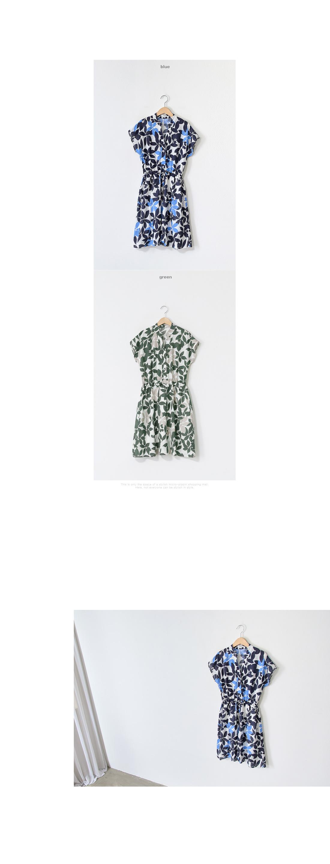 Swinged Leaf String Dress #34749