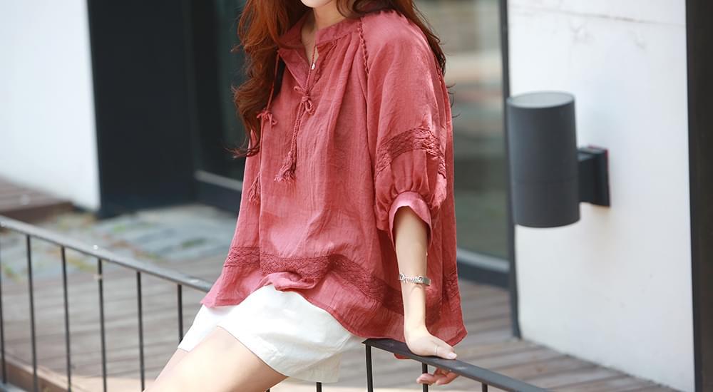 Simple ethnic blouse #44171